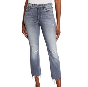 NWOT Mother Insider Crop High Rise Boot Jeans